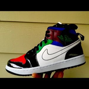 Air Jordan 1 Mid Fearless Multi Color
